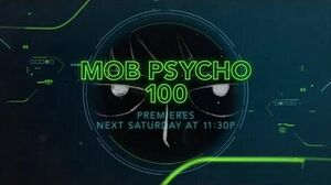 Mob Psycho 100 - Toonami Promo