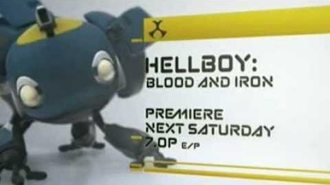 Hellboy Blood & Iron Toonami Promo