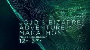 JoJo's Bizarre Adventure - Toonami Marathon Promo