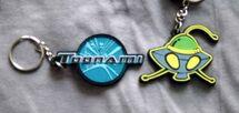 Toonami Keychains