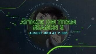 Attack on Titan Season 3 - Toonami Teaser