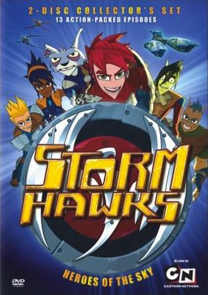 Storm Hawks DVD