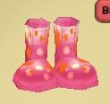 Pinkstarsboots