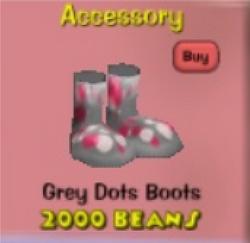 Greydotsboots
