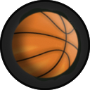 Kart Accessory Rim Basketball