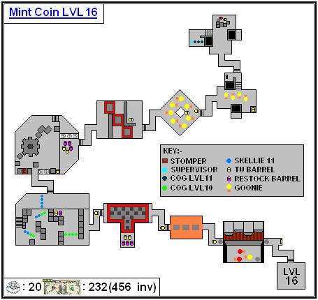 Mint Maps - Coin - LVL16