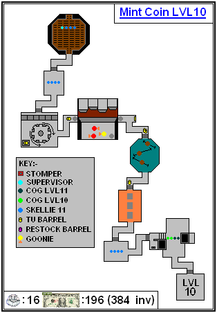 Mint Maps - Coin - LVL10