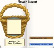 Flower Basket page