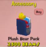 PlushBearPack