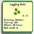 Juggling-Balls vs Cubes