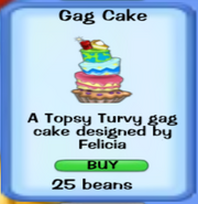 Party Gag Cake