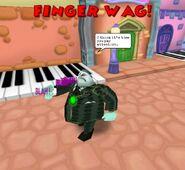 Fingerwag tightwad