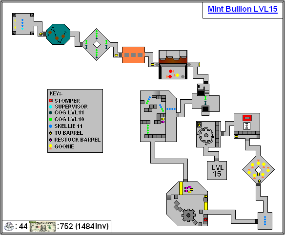 Mint Maps - Bullion Lvl15