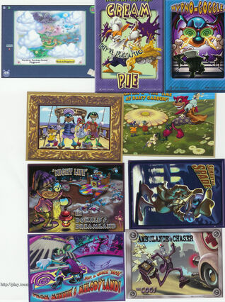 Forumfound A Bunch Of Trading Cards Toontown Wiki Fandom