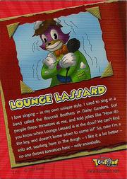 Loungelassard cardback