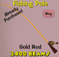 Gold rod new