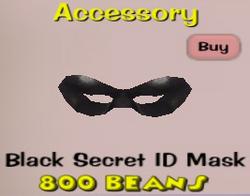BlackSecretMask
