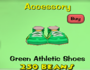 Green Athletic Shoes