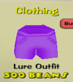 Lure shorts