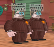Two flunkys