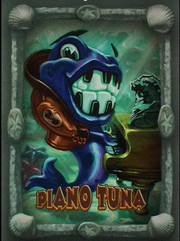 Piano tuna card