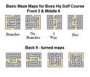 Basic Maze Maps Boss HQ