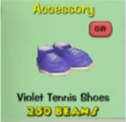 Violettennisshoes