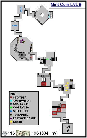 Mint Maps - Coin - LVL09