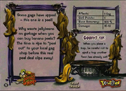 Banana peel card bio