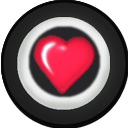 Kart Accessory Rim Heart