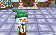 Snowmanhead yippie