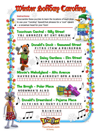 Winter Holiday Caroling-puzzle