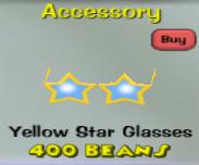 Yellow Star Glasses