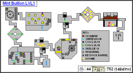 Mint Maps - Bullion Lvl01