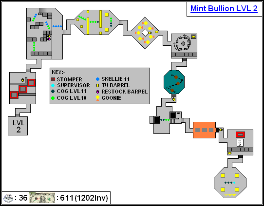 Mint Maps - Bullion Lvl02