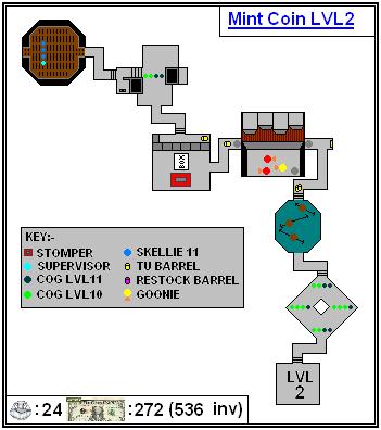 Mint Maps - Coin - LVL02