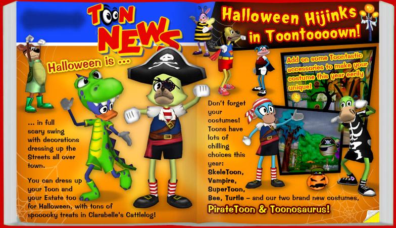 Image - Toontown halloween 2011 news.jpg | Toontown Wiki | FANDOM ...