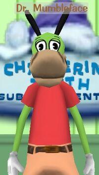 Dr. Mumbleface