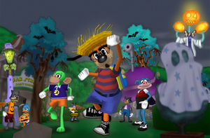 Hilarious Hauntings Hit Toontown