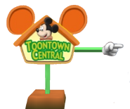 Toontown sign
