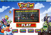 Toontown Online Sign Up and Play Screenshot