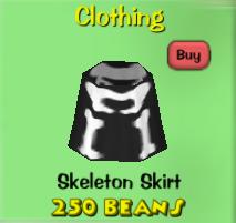 Skeletonskirt