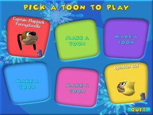 Pick-a-toon