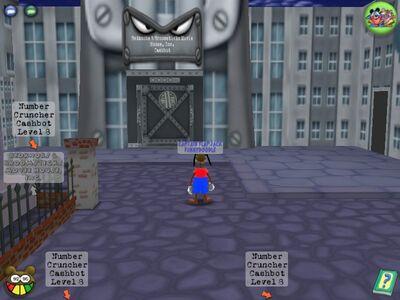 Cashbot Building