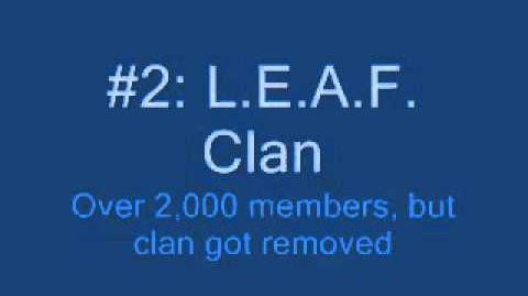 The Top 5 most popular clans