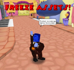 Freeze Assets