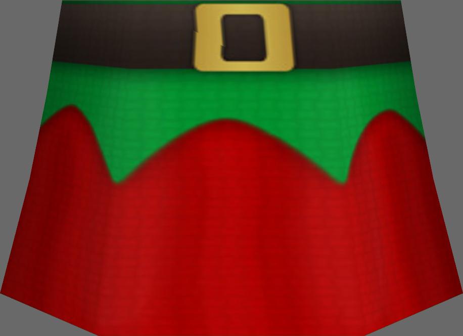 Santa's Helper Skirt