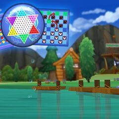 Fisherman Nutty introduces the new fishing pond and picnic games.