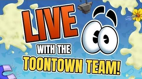 Toontown's 15th Birthday Celebration! LIVE with the Toontown Team