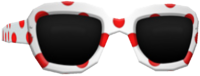 White Spotted Shades